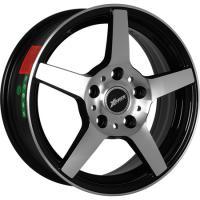 X-Race AF07 6.0x15 4x100 ET50 D60.1 BKF